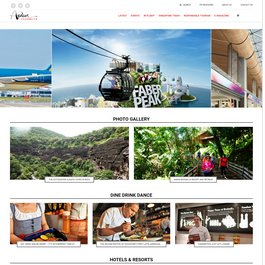 Asian journeys Magazine website by PublishRR